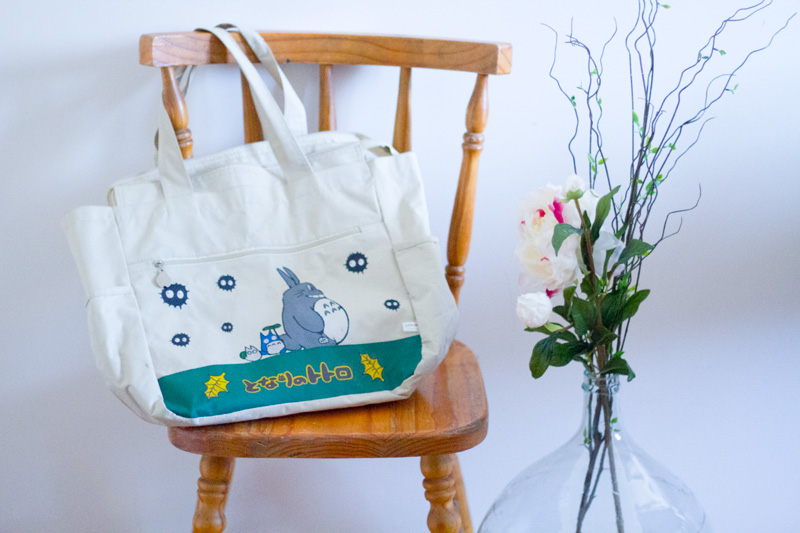 tote bag, déco,interieur, home, geek, vintage, design, star wars, totoro, pomme, photo