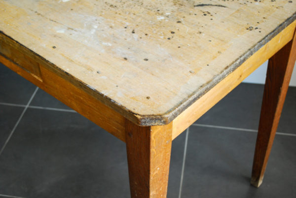 Table à manger en bois